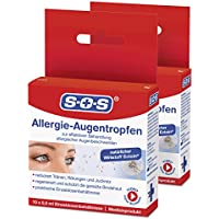 SOS Allergie-Augentropfen (2er Pack) preisvergleich bei billige-tabletten.eu