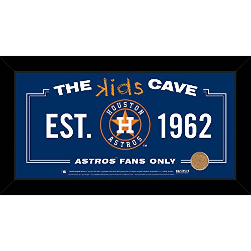 mlb-houston-astros-kids-cave-sign-with-game-used-dirt-from-minute-maid-park-blue-10-x-20