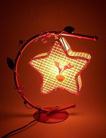 MZMZ Weihnachtsgeschenke Weihnachten 22*24*10cm Romantisch und warmen Ort kreative Geschenke Aushöhlen, Schmiedeeiserne Lampen-LED Licht Schlafzimmer des ländlichen Raums ,