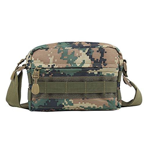 Zll/New Model Army Fan Taschen Sport Outdoor Sports Tactical Tasche Sport und Freizeit Fashion Handtaschen Jungle-Grün