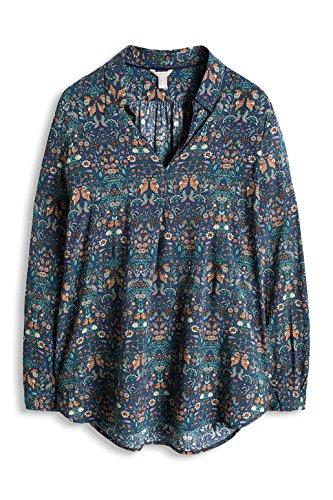 ESPRIT Damen Bluse Mehrfarbig (INK 3 417)