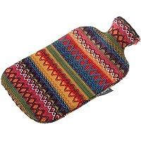 Preisvergleich für Fashy 6757 25 Wärmflasche ~ Thermoplast- Wärmeflasche mit Kuschelbezug im Peru-Design, geruchsneutral, recyclingfähig...