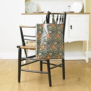 Licensed William Morris Compton Medium PVC / Oilcloth Floral Tote Shopping Bag