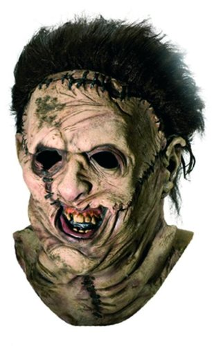 Leatherface Maske Deluxe (Leatherface Halloween Maske)