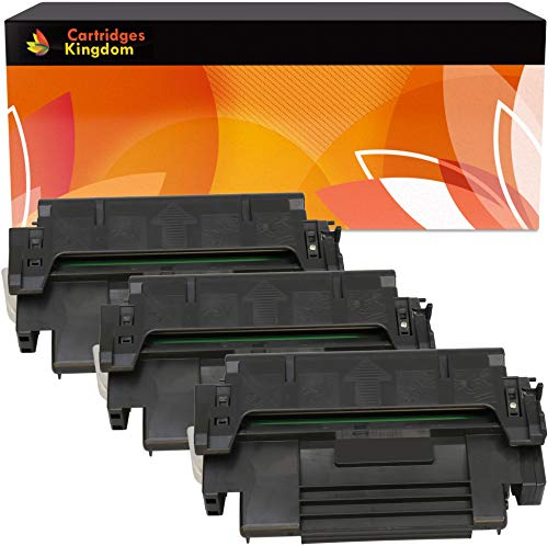 98a Laserjet (Cartridges Kingdom 3-er Pack Toner kompatibel zu HP 92298A 98A für HP Laserjet 4, 4M, 4M Plus, 4Plus, 4MX, 5, 5M, 5N, 5SE, Apple Laserwriter 16, Pro 600, Pro 630)