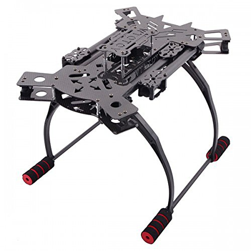 iParaAiluRy Reptile 4-Achsen-Carbon-Faser-Folding Quadcopter Rahmen Kit mit Fahrwerk HJ-H4