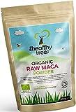 Bio Maca-Pulver - reich an Vitaminen B1, B2, B6, Kalzium, Eisen und Zink - Bio-Rohem Maca-Wurzelpulver von TheHealthyTree Company
