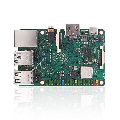 youyeetoo Rock PI 4A/B V1.4 Rockchip RK3399 Arm Cortex Six Core SBC Ordinateur de Bord Unique Compatible avec écran Raspberry Pi Officiel RCKPi4B-2G