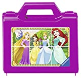 Ravensburger Kinderpuzzle 07428 Disney Princess Ravensburger 07428-Funkelnde Prinzessinnen-Würfelpuzzle