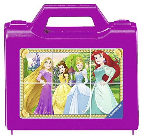 Ravensburger 07428 Disney Princess 07428-Funkelnde Prinzessinnen-Würfelpuzzle - Disney Prinzessin Mulan