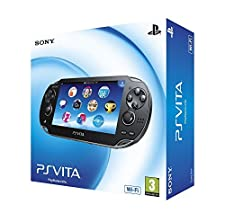 Sony PlayStation Vita - portable game consoles (640 x 480 pixels, PlayStation Vita (PSVita), Black, OLED, ARM Cortex-A9, Lithium-Ion (Li-Ion))