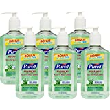 Purell Advanced Instant Hand Sanitizer Refreshing Aloe 12 Ounce (Pack Of 6)