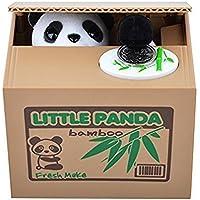 Preisvergleich für Mackur Kreativ Sparschwein Gelddose Diebstahl Panda Elektronische Spardose Witziges Sparschwein Geschenk für Kinder Farbe Zufall 1 Stück