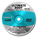 Ultimate Boot & Recovery CD, Windows 10, 8, 7, Vista, XP ?2018 Bild