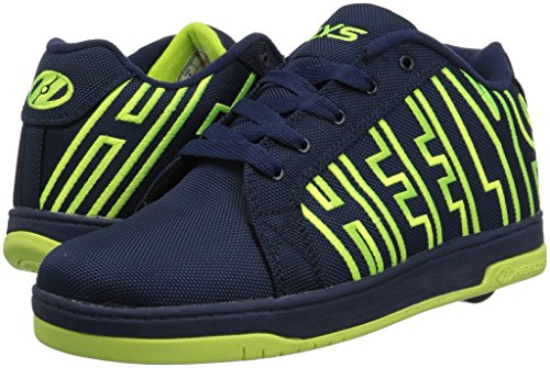 Heelys Split Synthétique Chaussure de Basket Navy/Bright Yellow