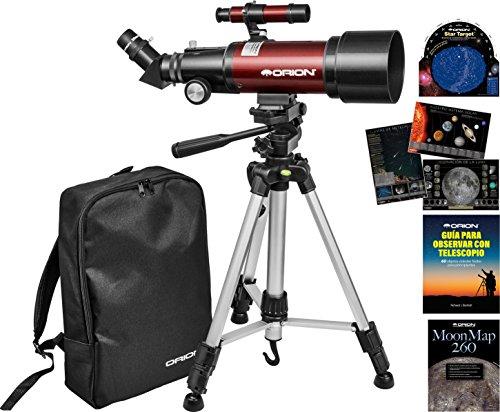 Kit telescopio refractor viaje Orion GoScope III