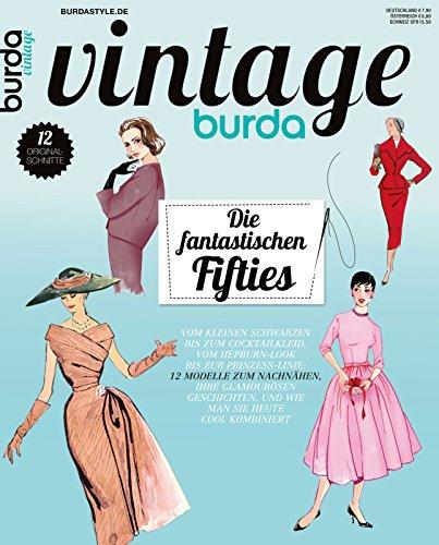 Burda vintage 2014 Nähmagazin Nähheft (Vintage-mode-magazin)