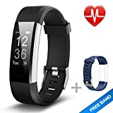 Fitness Tracker, Lintelek Large OLED Touch Screen Activity Tracker