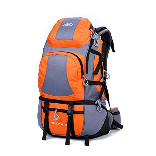 Diamond Candy Zaino da Trekking Outdoor Donna e Uomo con Protezione Impermeabile per alpinismo arrampicata equitazione ad Alta Capacit¨¤ borsa da viaggio,Multifunzione, 38 litri Arancione Arancione