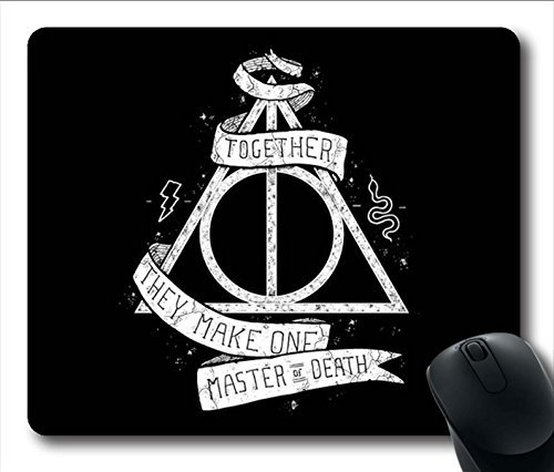 Gaming Mouse Pad, Deathly Hallows Harry Potter Personalized MousePads