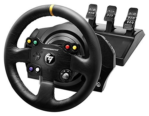 Thrustmaster VG TX Racing Wheel Leather Edition Premium Official Xbox One Racing Wheel for Xbox One and PC by ThrustMaster