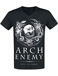 Arch Enemy Will To Power Camiseta Negro 800ab24c7e668