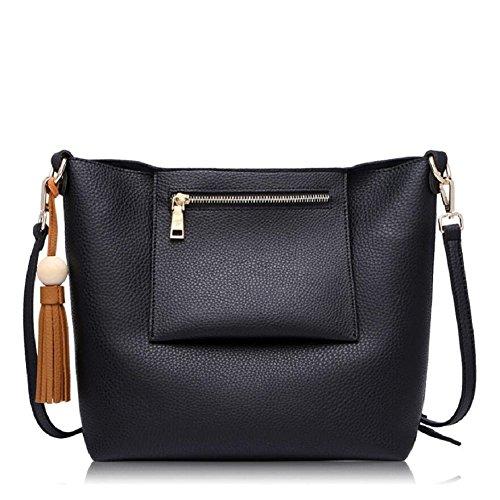 Z&N Einfache lässig Damen Umhängetasche Handtasche Outdoor-Tasche Reisetasche geeignet für alle Arten von Aussehen Hochzeit Dating Party Multi-Tasche C