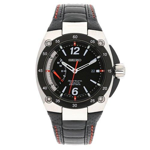Seiko Uhr mit japanischem Quarzuhrwerk Man SRG005P2 44.0 mm