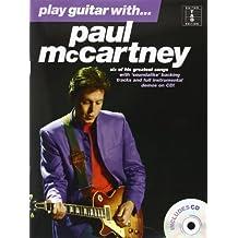 Play Guitar With... Paul Mccartney Gtr Book/Cd