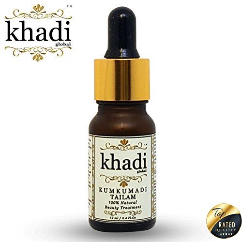 Khadi Global Royale Kumkumadi Tailam 100% Natural Beauty Treatment 12ml