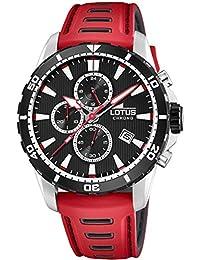 1b1073d613e7 Amazon.es  Lotus - Rojo   Relojes de pulsera   Hombre  Relojes