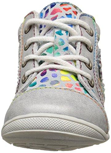 GBB Manelle, Chaussures Bébé marche bébé fille Multicolore (18 Vtc Gris Clair/Mosaic Dpf/Kezia)
