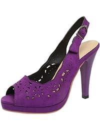 YE - Zapatos con correa de tobillo Mujer