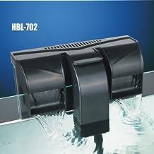 HBL 702 -filtro mochila externo tipo cascada, 7W, 800l/h, para acuario de agua dulce y marina