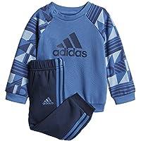 Adidas I E Pr Jogg Ft Chándal, Unisex niños, Azul, 104 (3/4 años)