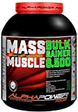 ALPHAPOWER FOOD Maas - Whey, Muscle Weight Gainer I Mega, Muskelmasse & Muskelaufbau - Protein -...