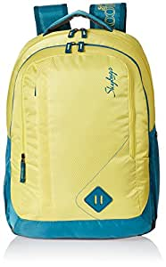 Skybags Viber 29.5 Ltrs Yellow Casual Backpack (BPVIBFS1YLW)