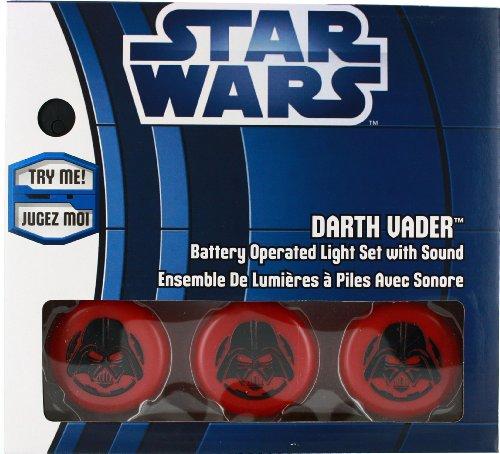 Star Wars Weihnachts-Lichterkette mit Sound Darth Vader Kurt Adler Decoration