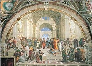 Editions Ricordi 2801N24007 - Puzzle de 1000 Piezas del Cuadro  La Escuela de Atenas  de Raffaello