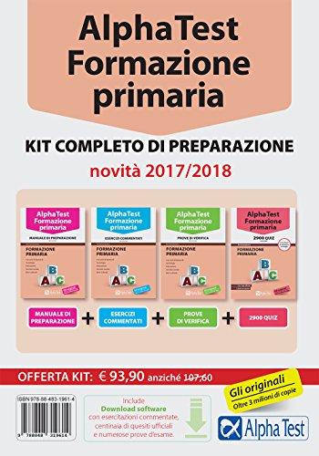 Alpha Test. Formazione primaria. Kit completo di preparazione. Con software di simulazione. Con software di simulazione