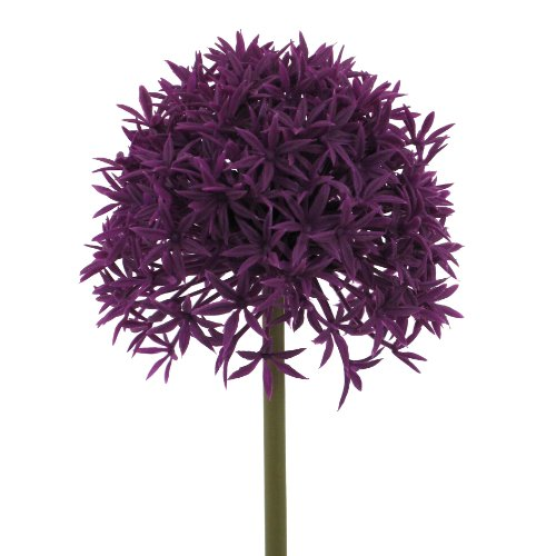Kunstblume Allium 64cm. Farbe lila VIOLETT