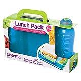 Sistema Lunch Snack Attack DuoLunchbox mit 2 Fächern-975ml