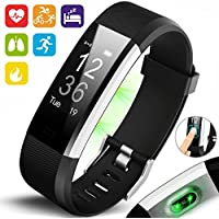 AQUARIUS AQ125HR Touch Screen Fitness Activity Tracker Sports HRM Watch