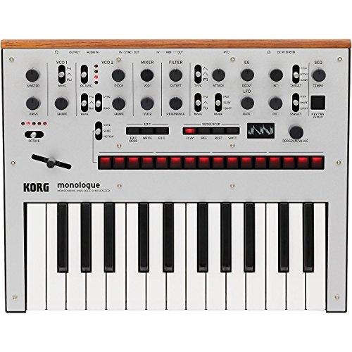 Korg Gate luxueuse synthétiseur analogique avec Présélections Silver