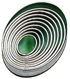 Tagliabiscotti Teglia Forma di biscotto Modulo Ovale pezzo fresa 9