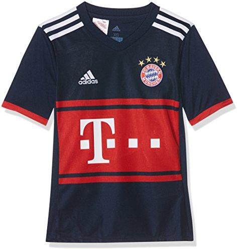 Adidas FCB A JSY Y Camiseta 2ª Equipación FC Bayern De Múnich, Niños, Azul (Maruni/rojfcb), 176 (15/16 años)
