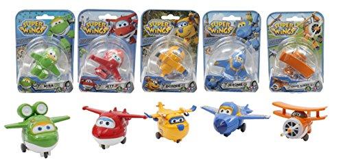 Giochi Preziosi Super Wings Niño 1 Pieza(s) - Figuras de Juguete para niños, Metal, Niño, Dibujos Animados, Acción / Aventura, Super Wings