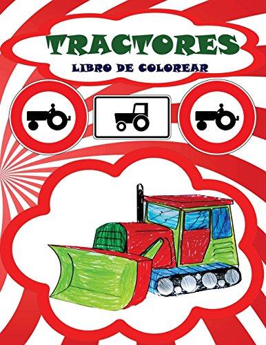 Libro de colorear Tractores por Rainbow