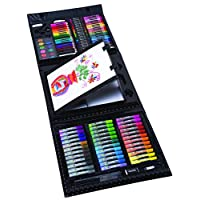 DM Creations Art 101 Kids 154-Piece Trifold Easel Art Set