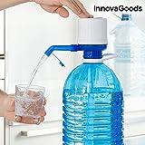 InnovaGoods Distributeur d'eau pour Carafes, Polypropylène, Blanc/Bleu, 16,5x 8x 18cm
